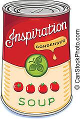 inspir, 番茄湯, condensed, 罐頭