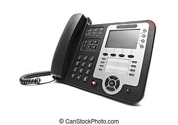 ip, 黑色, 辦公室電話