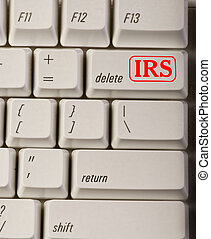 irs, button., 刪除