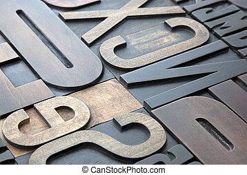 letterpress, 背景