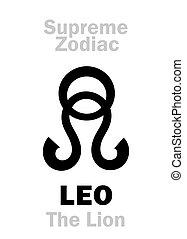lion), astrology:, leo, 最高, (the, zodiac: