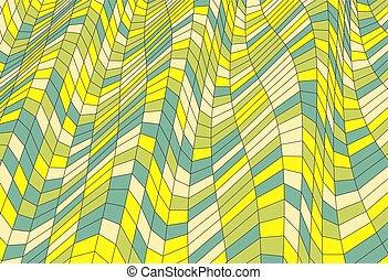 mosaic., illustration., 摘要, polygonal, 背景。, 矢量