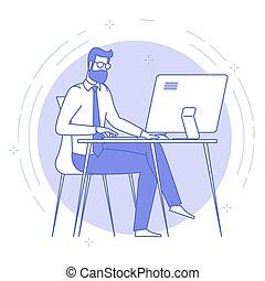 openspace, 年輕, 工作