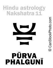 phalguni, purva, (nakshatra), astrology:, 車站, 月