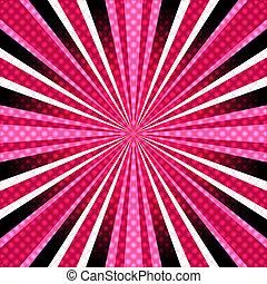 pink-purple, 光線, 背景