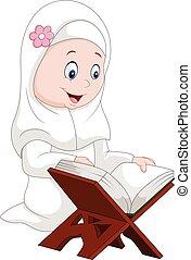 quran, 女孩讀物, 卡通