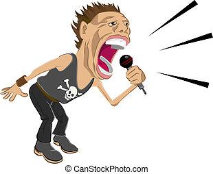 rockstar, 插圖