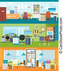 room., 內部設計, 插圖, 辦公室