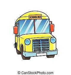 school., 公共汽車
