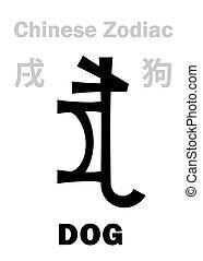 (sign, zodiac), 狗, 漢語, astrology: