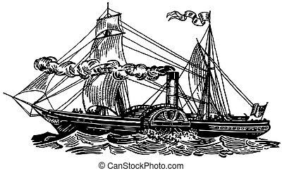 sirius, 小船