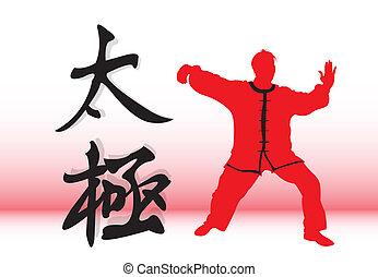 tai-chi., 漢語