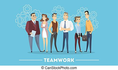 team., 人們