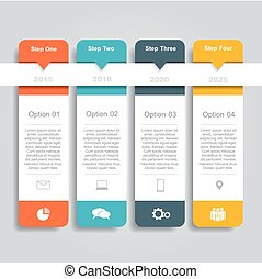 template., 是, 事務, 選擇, infographic, 罐頭, 圖形, design., 布局, 网, 使用, 工作流程, 旗幟, 步驟