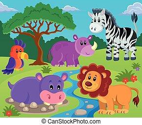 topic, 圖像, 2, 動物