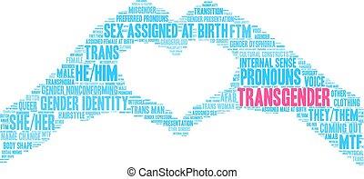 transgender, 詞, 雲