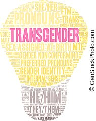 transgender, 雲, 詞