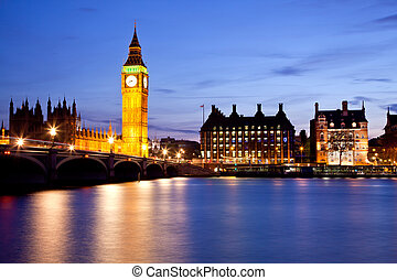 westminster, 大本鐘, 橋梁