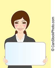 whiteboard, 婦女
