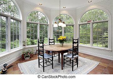 windows, 吃區域