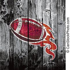 woodboard, 美國足球, 黑色
